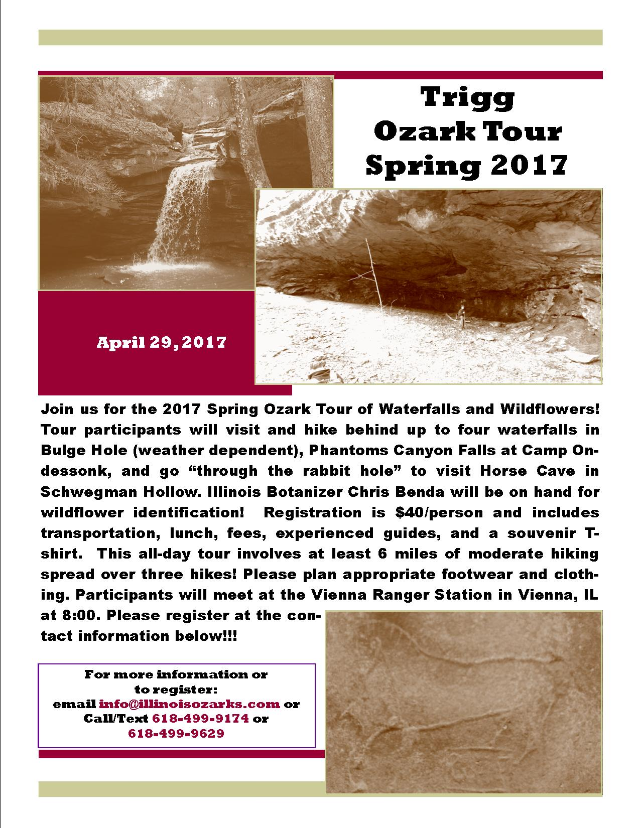 OzarkTourSpring2017Flyer